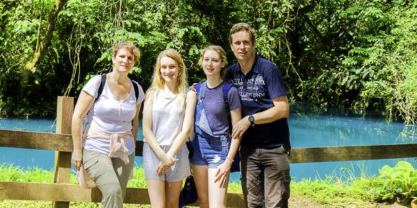 Ghislaine et François en famille-Costa Rica sur mesure-Avril 2018