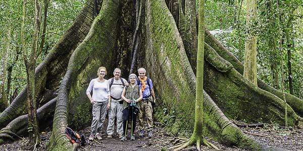 Anne-Marie, Jacqueline, Didier et Alain / Costa Rica entre amis / Février 2020